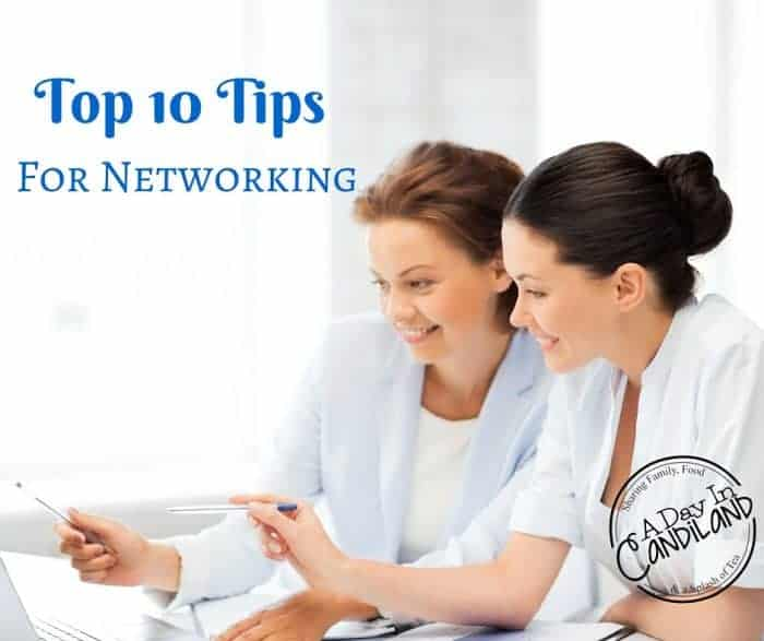 Top 10 Tips for networking Facebook Image