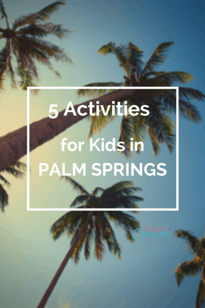 13 Fun Things For Kids To Do In Palm Springs