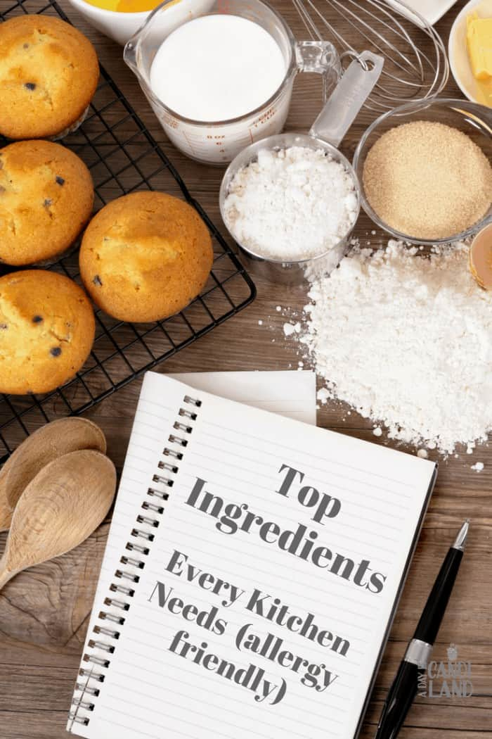 Ingredients Every Gluten- Free Kitchen Needs in the Pantry