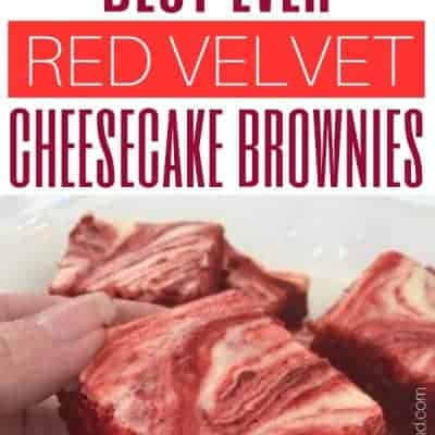 Best Ever Red Velvet Cheesecake Brownies