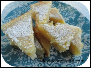 The Best Lemon Bars from A Day in Candiland