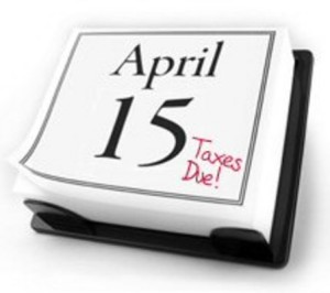 Taxes Due - April 15