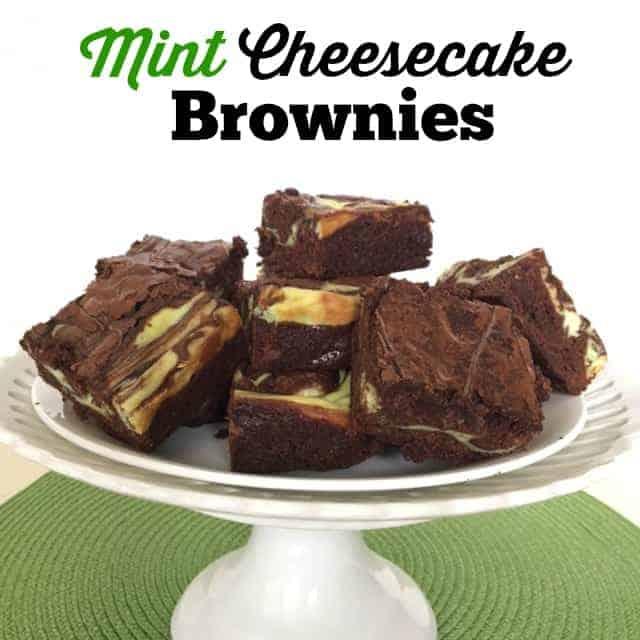 Mint Cheesecake Brownie Recipes