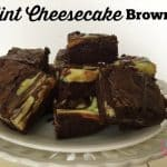 Mint Cheesecake Brownie Recipes You Can Freeze