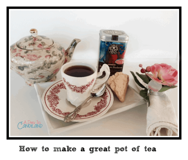 How to make a pot of hot tea