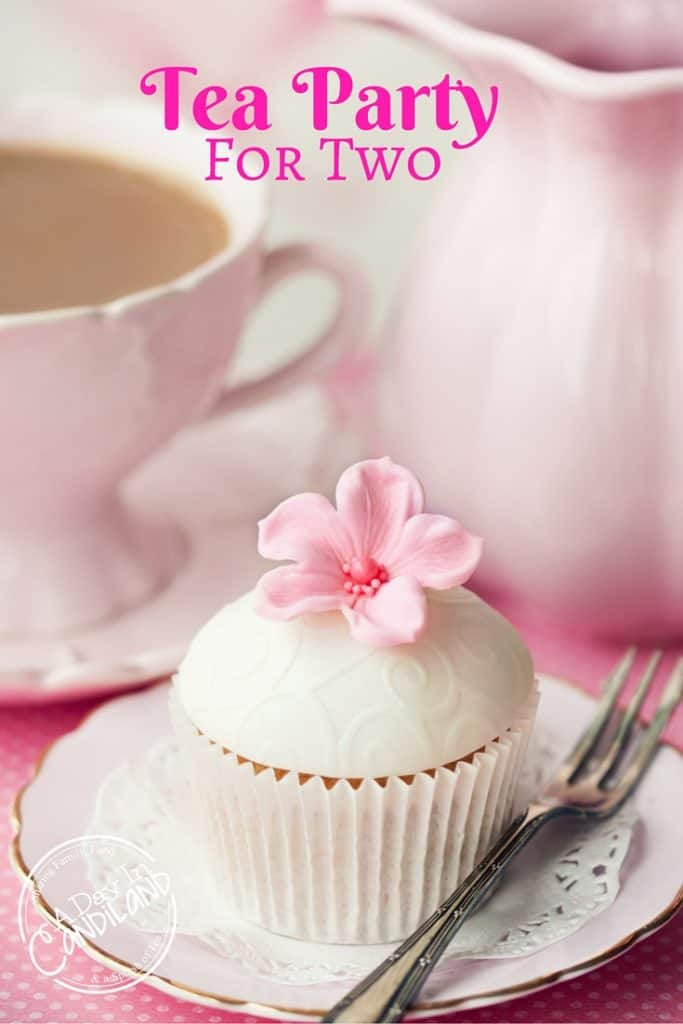 Tea Party for Two. Create a special occasion for your friend over afternoon tea