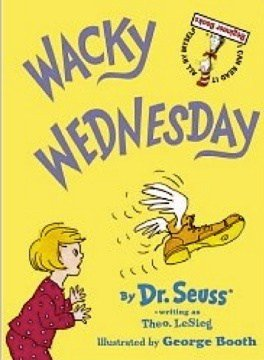 Wacky Wednesday Book by Dr. Seuss