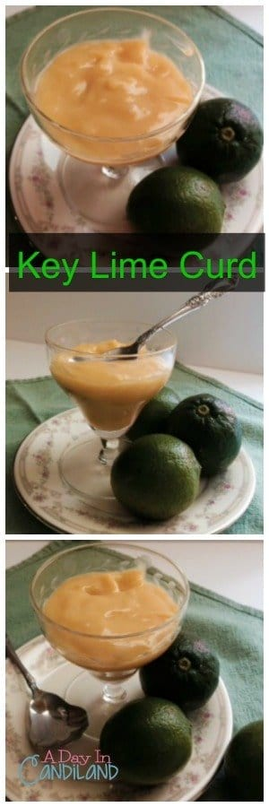 Key Lime Curd Collage