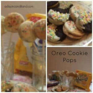 Oreo Cookie Pop Collage