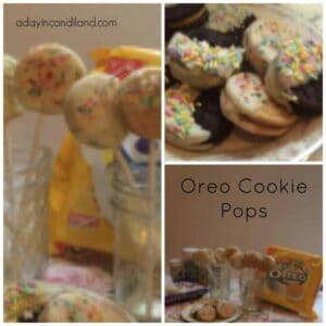 Oreo Cookie Pop Collage