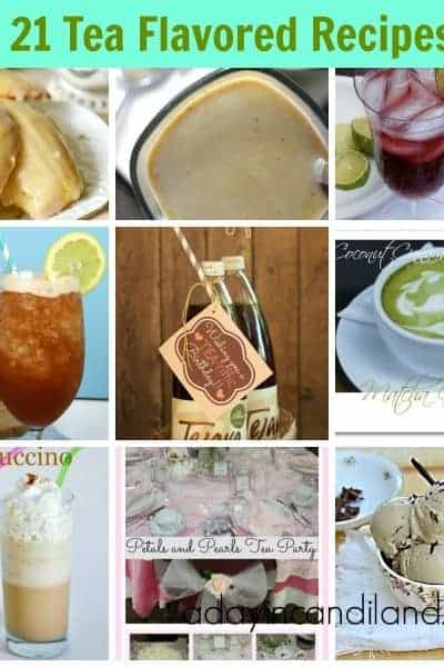 21 Tea Flavored Recipes Youll Thirst For