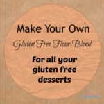 My favorite gluten free flour blend