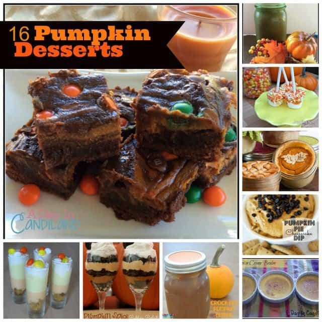 16 Easy Pumpkin Desserts