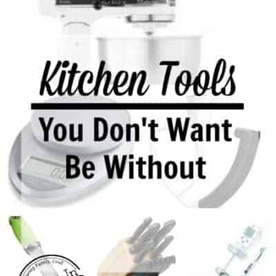Top Kitchen tools you don't want to be without