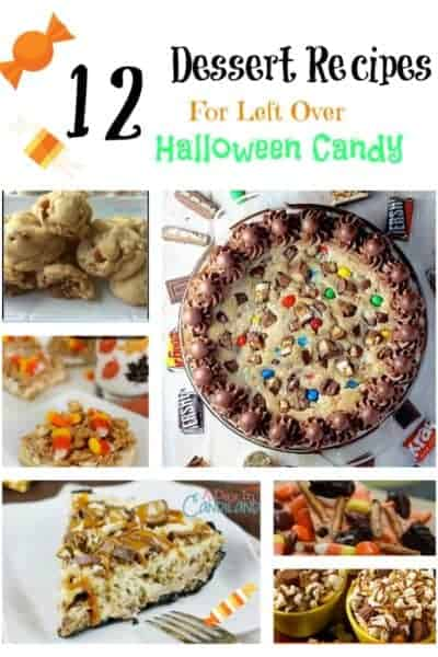 Ideas for Left Over Halloween Candy