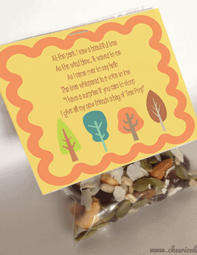 Paleo Tree Poop Recipe