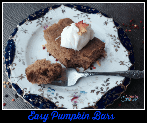 Easy Pumpkin Bars with Cream Cheese Frosting recipe