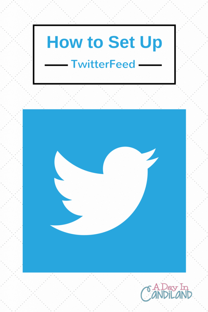 How to set up twitterfeed