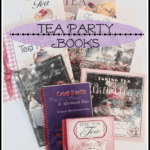 Favorite Tea Time Books and Lemon Loaf Recipe