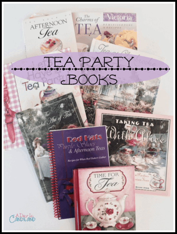 Favorite Tea Party Books a collection of recipes and party ideas