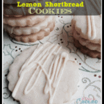 White Chocolate Dipped Lemon Shortbread Cookies for Great Food Bloggers Cookie Swap