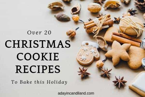 Over 20 Christmas Cookie Recipes
