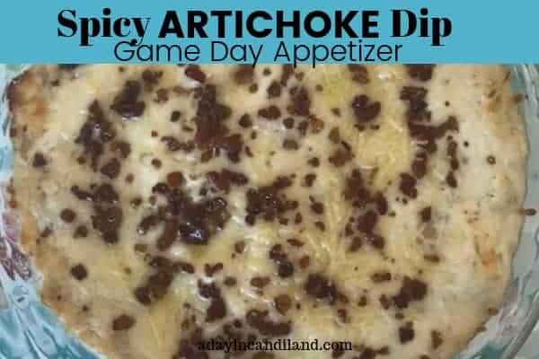 Spicy Artichoke Appetizer Dip