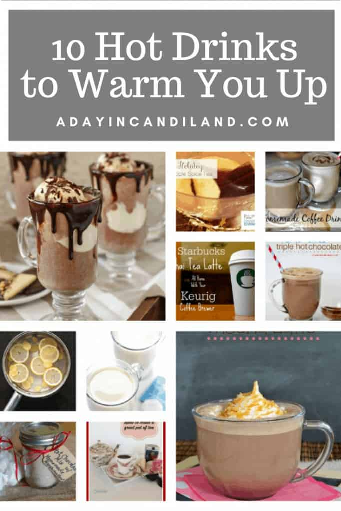 10 Hot Drinks to Warm You Up when it's cold outside. #beverages #candilandblogs