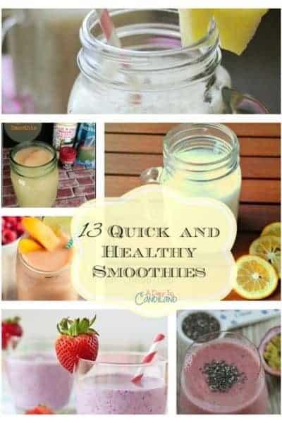 13 Quick Easy Smoothie Recipes
