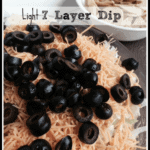 Light 7 Layer Dip