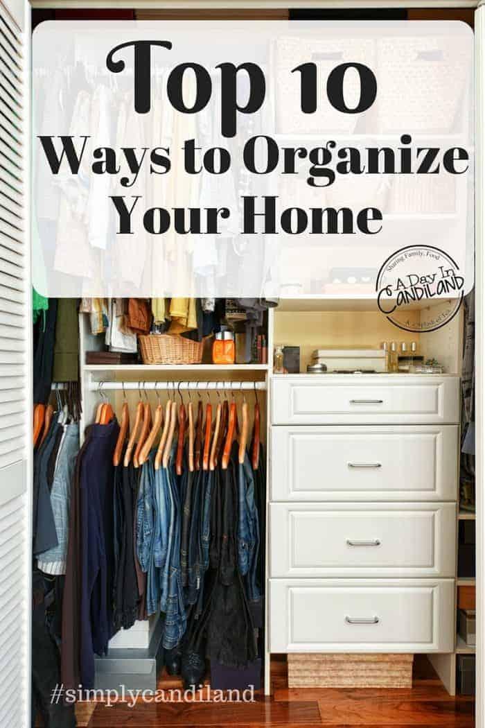 10 Ways to Get Organized