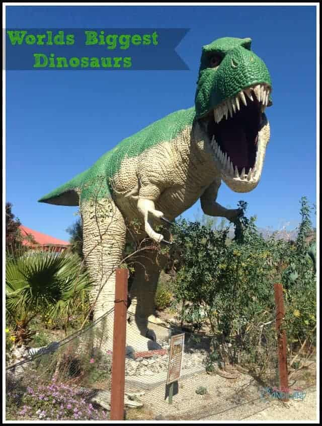 Worlds Biggest Cabazon Dinosaurs