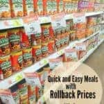 Quick and Easy After School Meals with the Chef Boyardee Rollback at Walmart