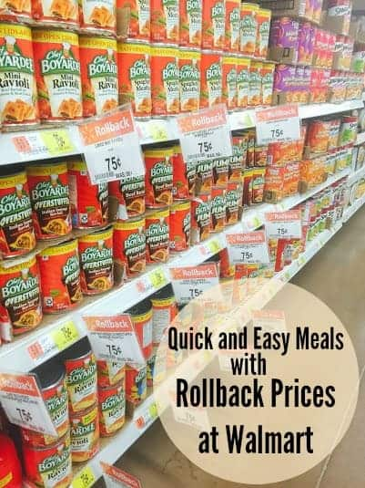 Chef Boyardee Quick and Easy Meals