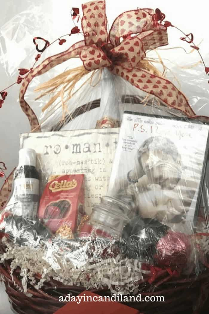 Movie Night Gift Basket Diy Romantic Gift Basket A Day In Candiland