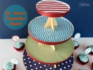 Dr. Seuss Cupcake Stand 4