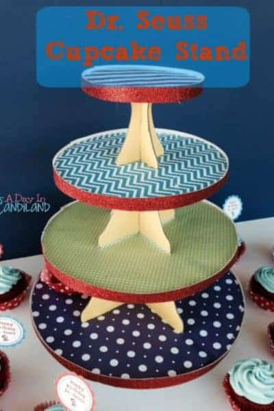 Cupcake Stand for Dr. Seuss Cupcakes