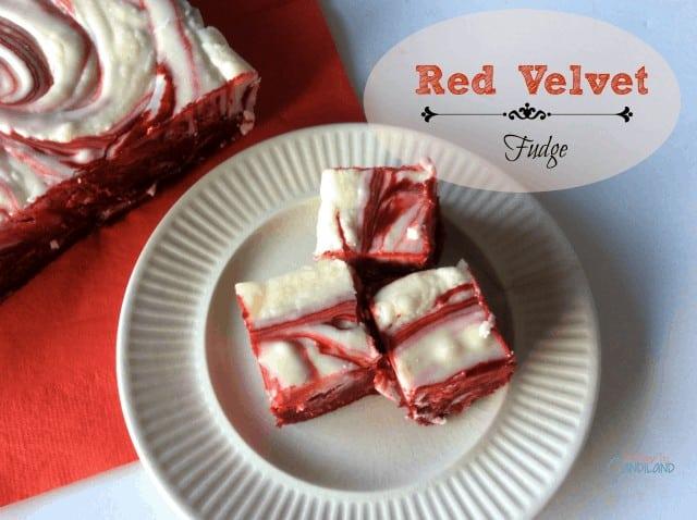 Red Velvet Fudge Facebook Image