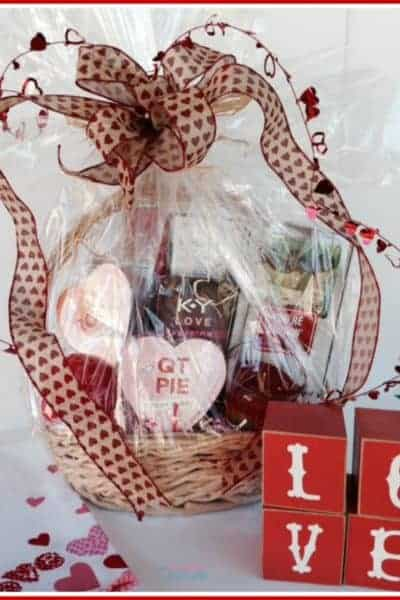 Create a Romantic Date Night Gift Basket with Tutorial