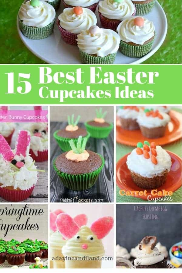 15 Best Adorable Easter Cupcake Recipes