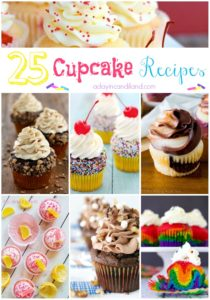 25 Cupcake Recipes adayincandiland.com
