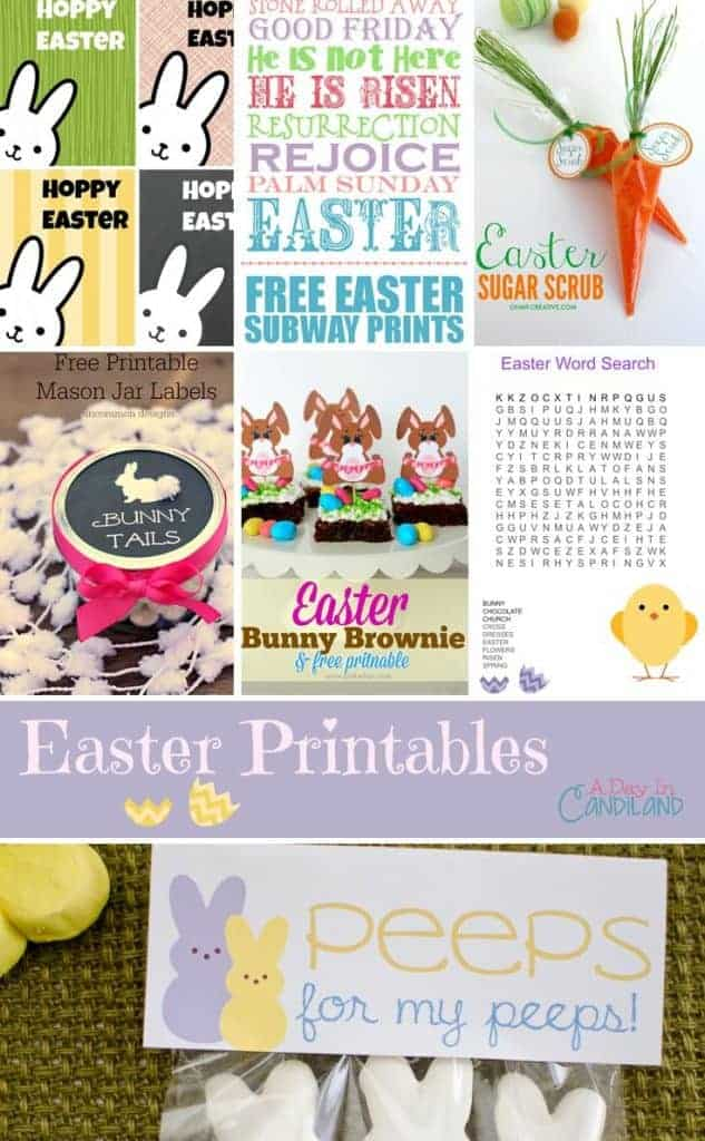 10 Cute Easter Printables for you to share with friends and family