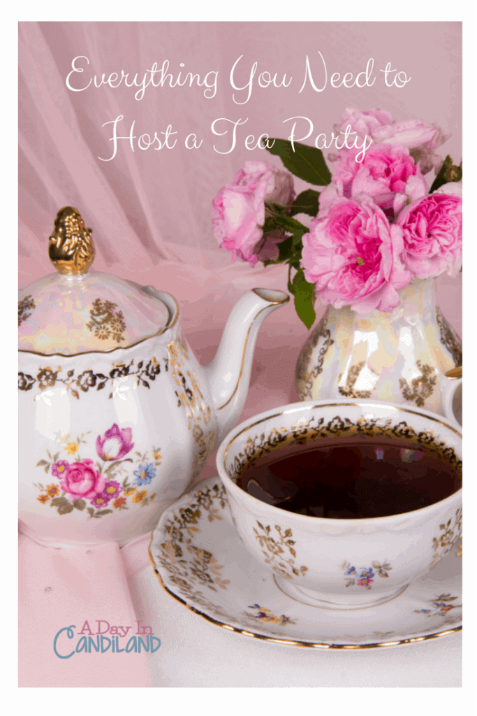 Your tea party must have list- A Day In Candiland