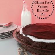 Gluten Free Smores Brownie Pie