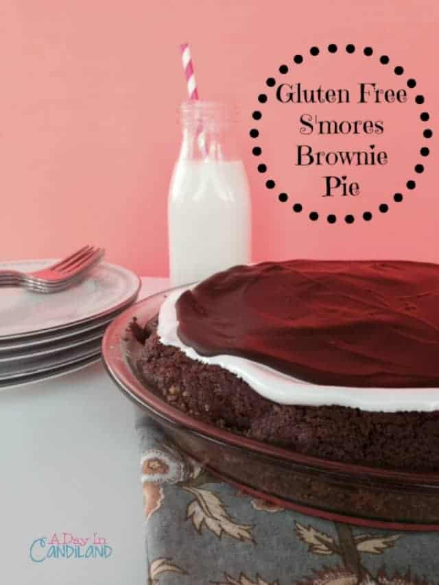Gluten Free Smores Brownie Pie