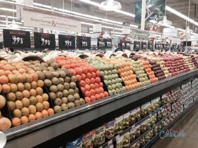 Smart & Final Fruit section