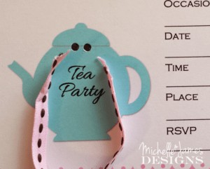 Tea Party Invite Image 3
