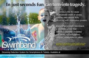 iSwimband ad