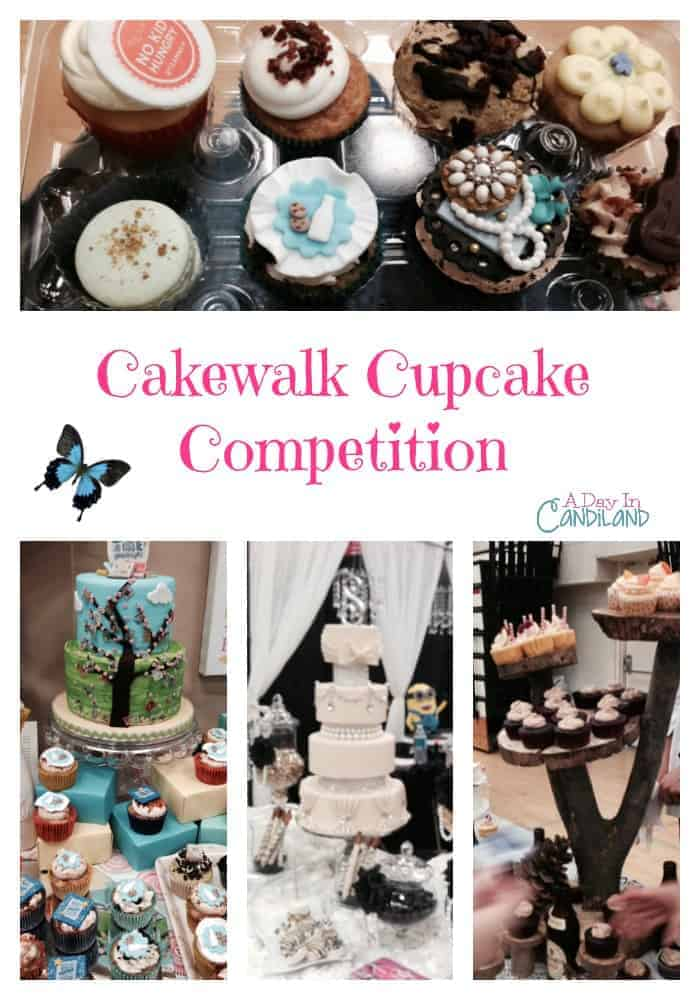 Cakewalk Cupcake competition in Southern California