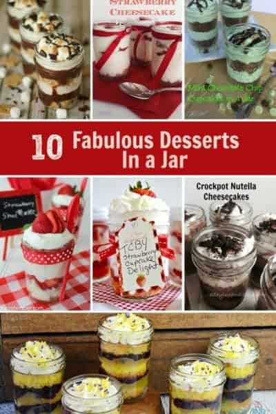 10 Fabulous Desserts in a Jar